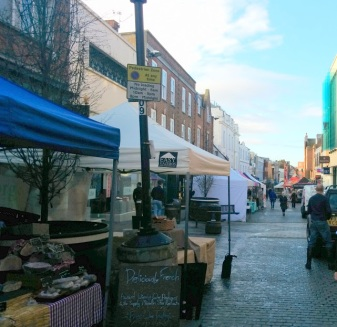 windsor town food market england